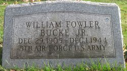 Pvt William Fowler Bucke, Jr