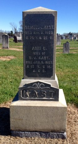 Ann Elizabeth Sheibley Kast 1829 1887 Find A Grave Memorial