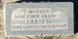 Marjorie Francis <I>McCombs</I> Larsen