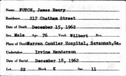 James Henry Futch