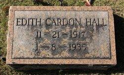 Edith Cardon Hall
