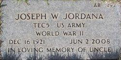Joseph W Jordana