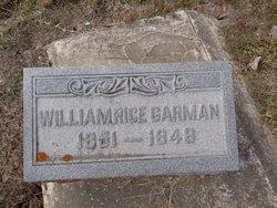 William Rice Garman