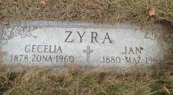 """Cecilia """"Celka"""" <I>Orzga</I> Zyra"""