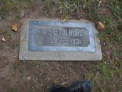 Dr Charles Edward Tolhurst
