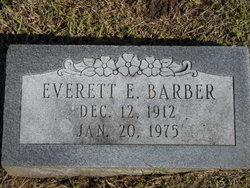 Everett Elwood Barber