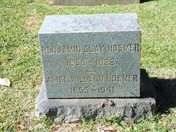 Mary Alice <I>Willson</I> Hosmer