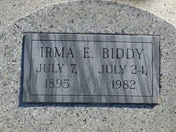 Alice Irma <I>Eaker</I> Biddy