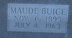 Maude <I>Buice</I> Anglin