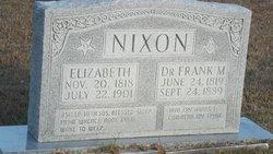 Hulda Elizabeth <I>Brooks</I> Nixon