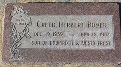 Creed Herbert Boyer
