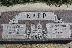 """Wilford """"Bill"""" Kapp"""