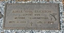Adele Ann West Erickson 1935 2002 Find A Grave Memorial