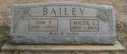 Maude Lilly <I>Gately</I> Bailey
