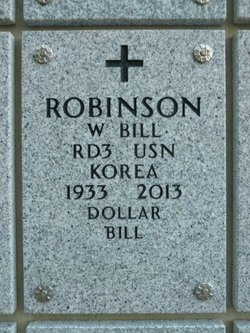 """Wesley W """"Bill"""" Robinson"""
