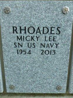 Micky Lee Rhoades