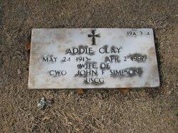 Addie Clay Simpson
