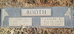 "Salena Ann Elizabeth ""Lena"" <I>Atkins</I> Booth"