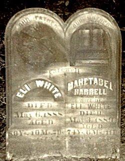 """Mahetabel Hannah """"Hettie"""" <I>Harrell</I> White"""