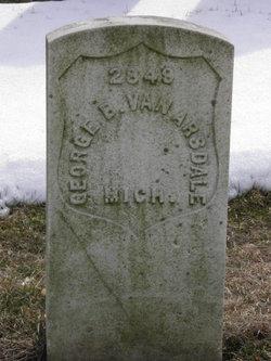 Pvt George B. Van Arsdale