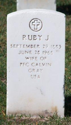 Ruby J Gray