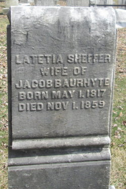Latetia <I>Sheffer</I> Baurhyte