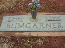 Mary Zelma <I>Branch</I> Bumgarner
