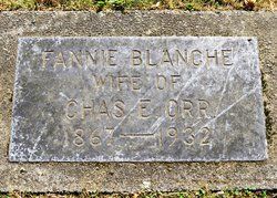 Fannie Blanche <I>Cross</I> Orr