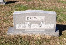 Frank Elmer Bowie