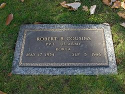 Pvt Robert Bradley Cousins