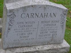 Hubert Burnip Carnahan