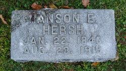 """Hanson Edward """"Hance"""" Hersh"""