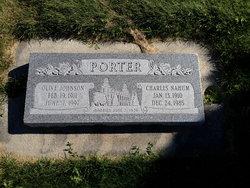 Olive Anna <I>Johnson</I> Porter