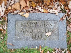 Mary Ann Anderson
