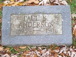 """Powell Bernard """"Paul"""" Anderson"""