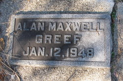 Alan Maxwell Greef