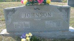Ova B Johnson