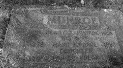"Mary Ann Maude ""Maude"" <I>Murrant</I> Munroe"