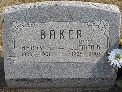 """Juanita Belle """"Bunny"""" <I>Medsker</I> Baker Lister"""
