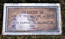 Frances Margurite <I>Briscoe</I> Billington