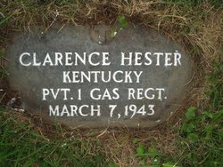 Pvt Clarence Hester