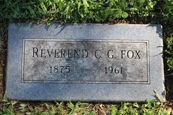 Rev Charles George Fox