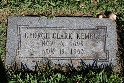George Clark Kemble
