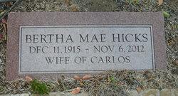 Bertha Mae <I>Hicks</I> Jones