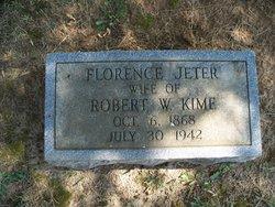 Florence <I>Jeter</I> Kime