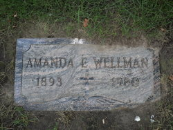 Amanda <I>Edlund</I> Wellman