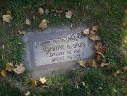 Albertine B Dixon