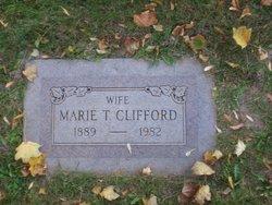 Mary <I>Thomas</I> Clifford