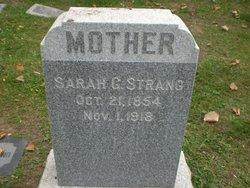 Sarah Georgia <I>Tregagle</I> Strang