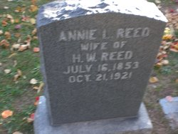 Anna Lavina <I>Borden</I> Reed